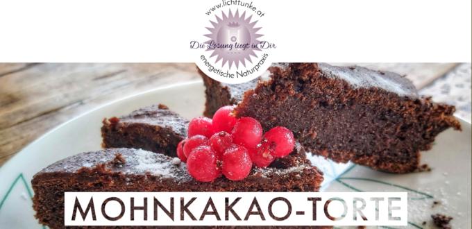 Mohnkakao Torte