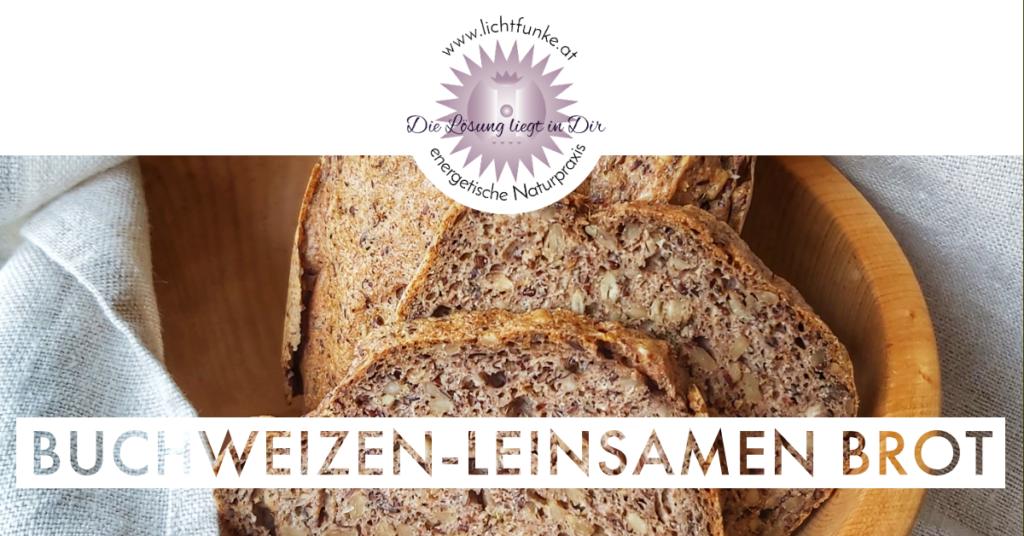 Buchweizen-Leinsamen Brot