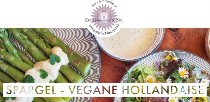 Spargel vegane Hollandaise